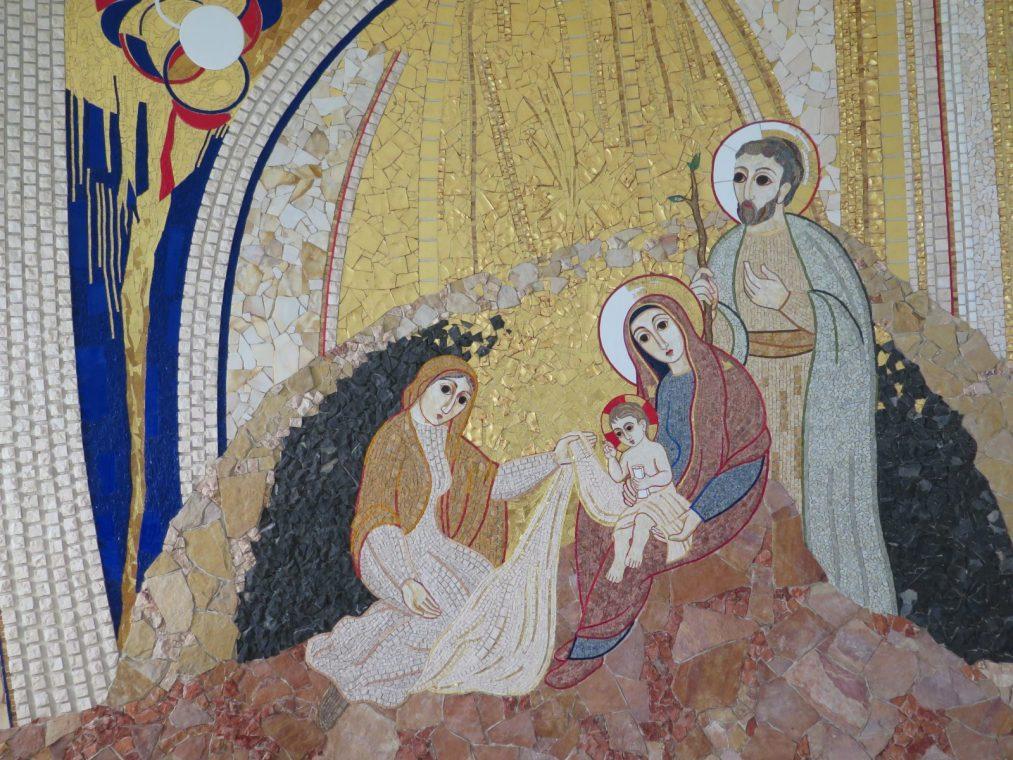 Mozaika, Marko Rupnik SJ (fot. Mariusz Han)