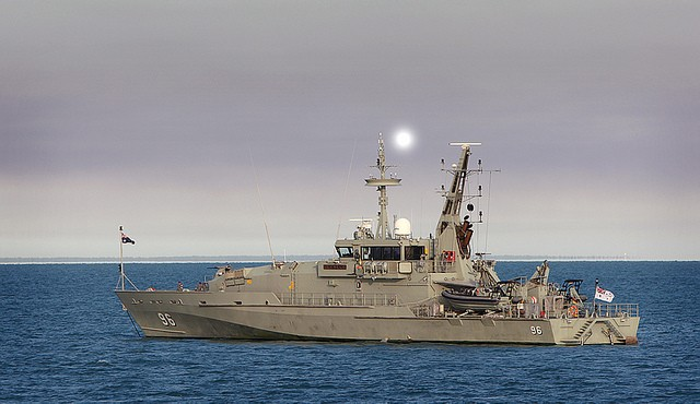 (fot. Royal Australian Navy / flickr.com / CC BY-NC-ND 2.0)